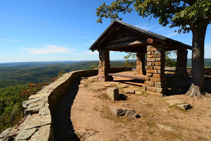 white rock mountain shelter