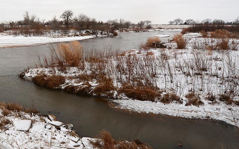 Arkansas River at Cow Creek