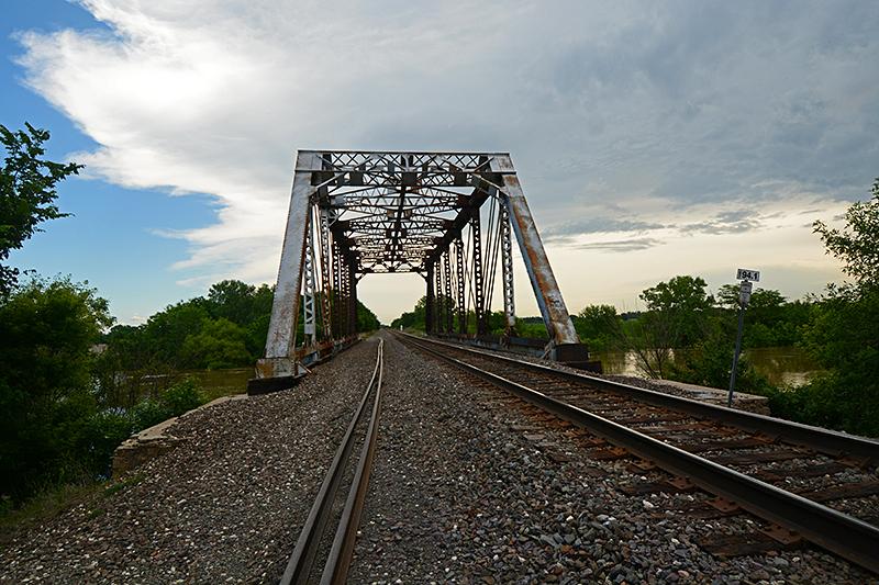Bridge over Little Arkansas River, KS